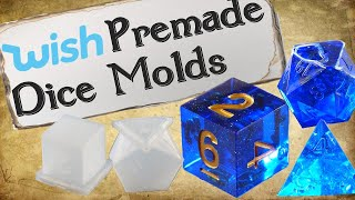 Premade Dice Molds: My Wish Experience