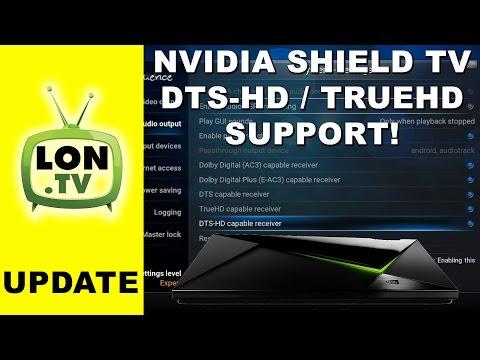 Nvidia Shield TV & Kodi : DTS-HD / Dolby TrueHD & 24p (23 976 fps)!