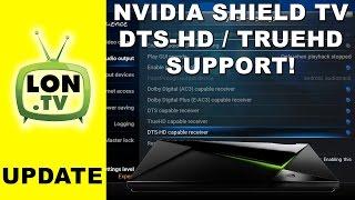 Gambar cover Nvidia Shield TV & Kodi : DTS-HD / Dolby TrueHD & 24p  (23.976 fps)!