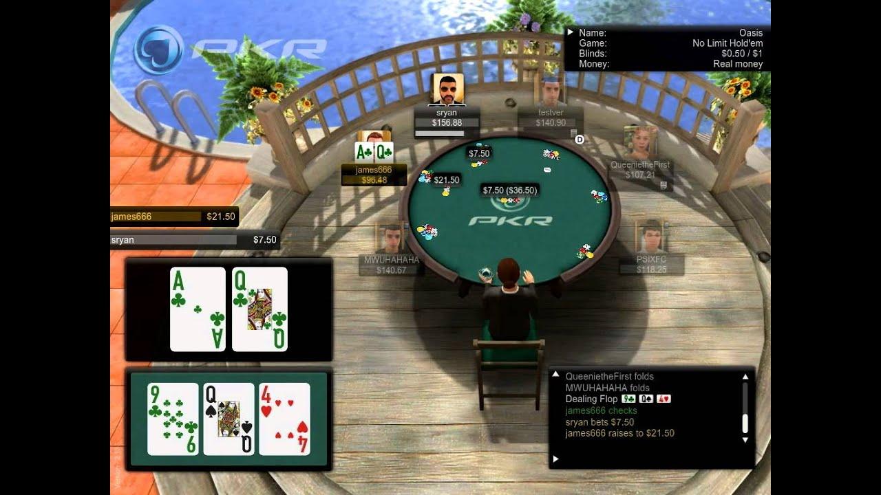 Bubble poker