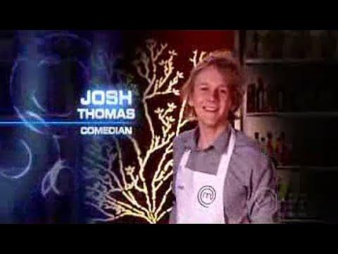 Josh Thomas on 'Celebrity Masterchef Australia' (2009)