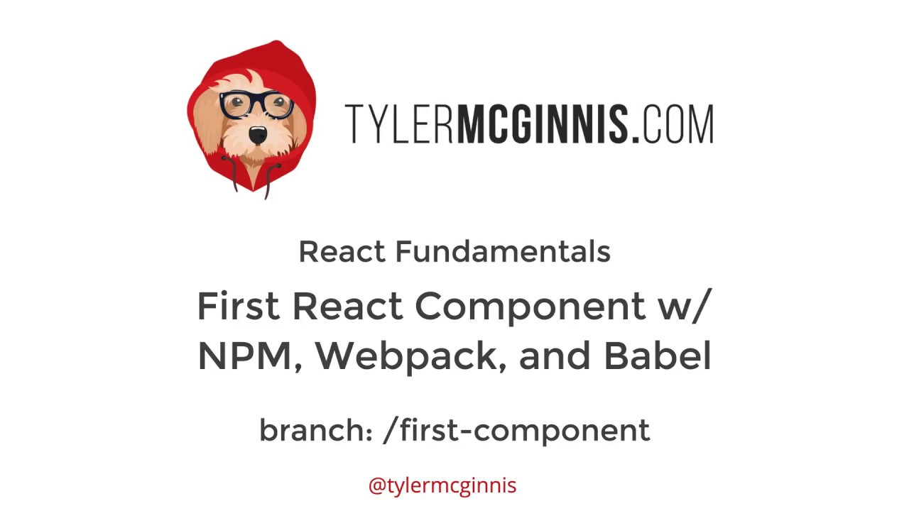 React (without Create React App) with Babel 7, Webpack 4, and React 16
