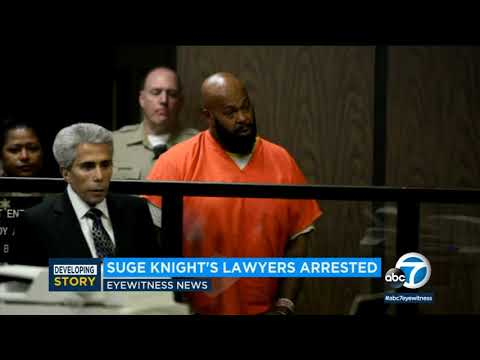 2 former lawyers of rap mogul 'Suge' Knight arrested I ABC7