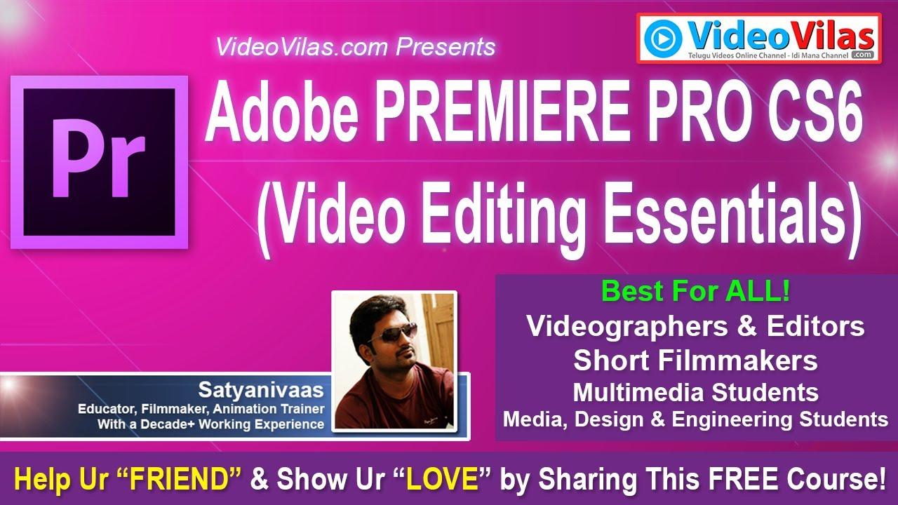 #01 Adobe Premiere Pro CS6 - Video Editing Essentials | Course Overview