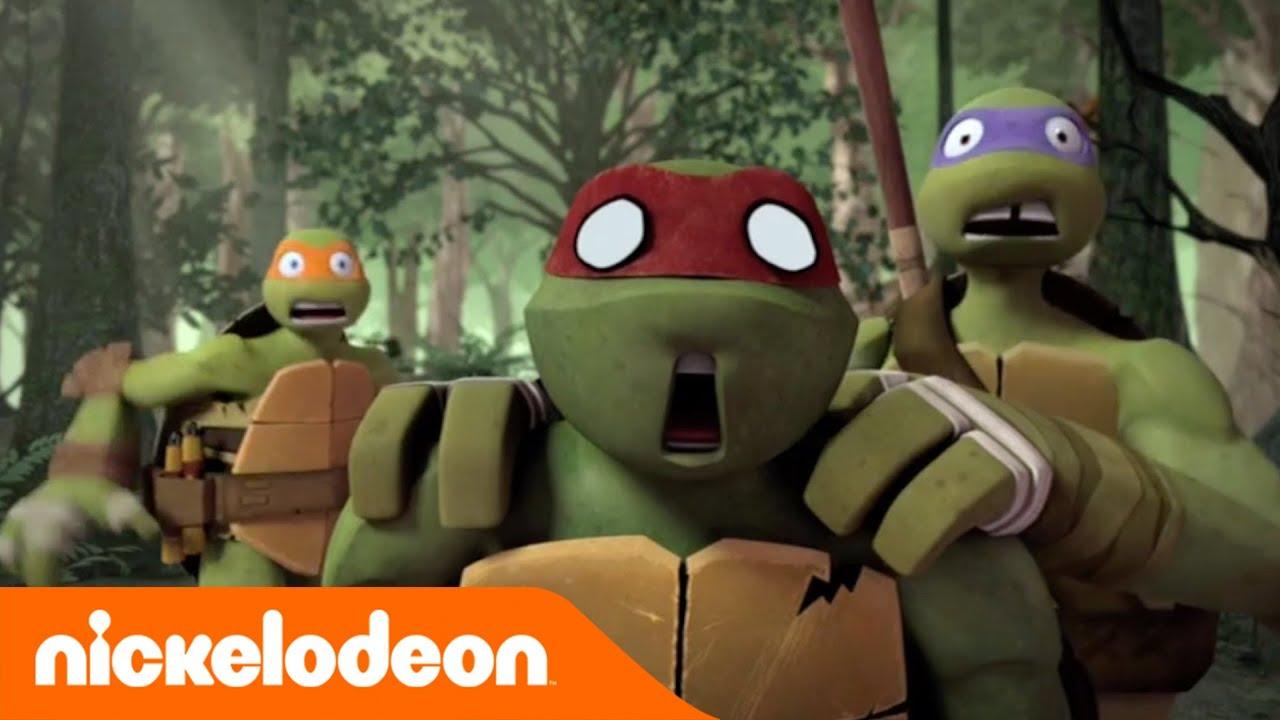 Le tartarughe ninja incontrano il bigfoot nickelodeon italia