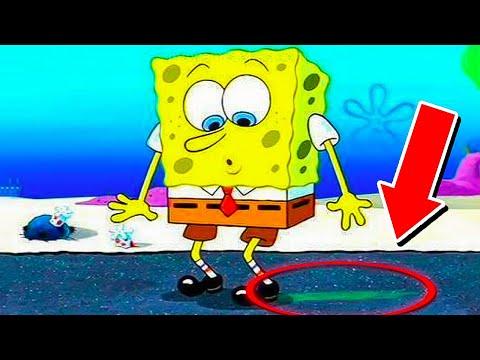 SpongeBob Mess Ups Everyone Missed (EVEN NICKELODEON)