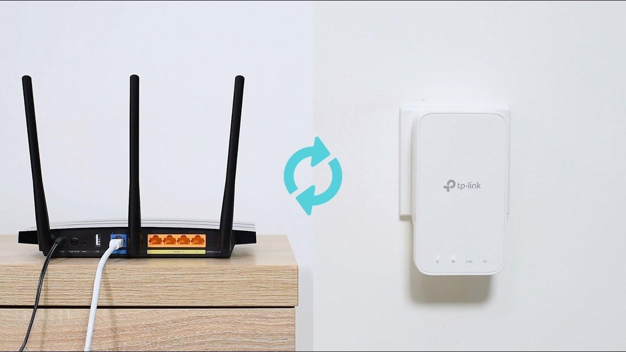 TP-Link AC1200 Wi-Fi Range Extender RE300 Quick Setup (WPS)