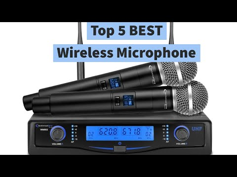 Top 5 BEST Wireless Microphone | Latest Wireless Microphone Systems 2021 | Detailed Review