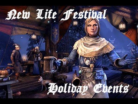 ESO: New Life Festival - Castle Charm Challenge