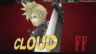 ESV Smash 4 Weekly #5 - LAGr   Spam Cop (Cloud) vs Novarante (Yoshi) - WR2