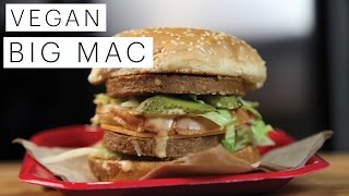 Vegan Recipe: Vegan Vegetarian Big Mac | Edgy Veg