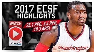 John Wall ECSF Offense Highlights VS Celtics 2017 Playoffs - Highlight Machine!