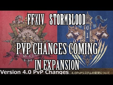 FFXIV Stormblood: PVP Changes in Stormblood - Less Abilities, Less Restrictions, More PVP