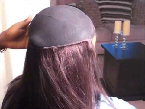 tutorial how to do a quick weave with an invisible part youtube