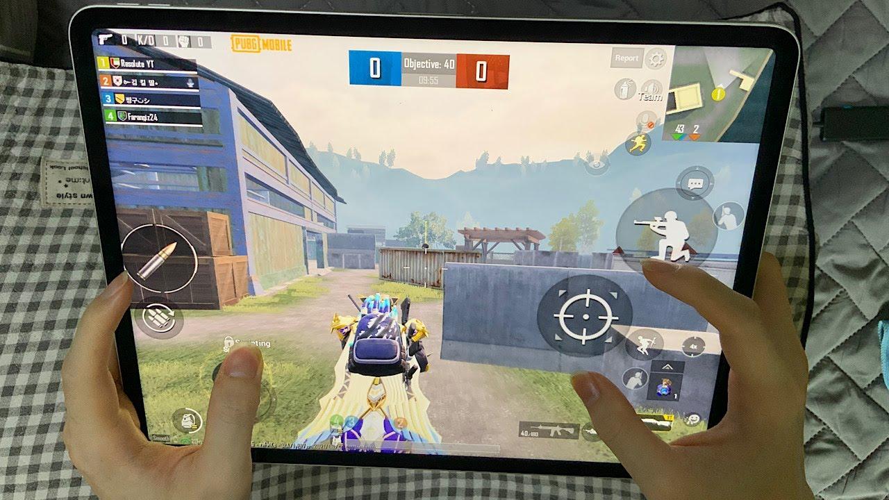 NEW 2021 iPad Pro M1 TDM HANDCAM Test Gameplay Montage