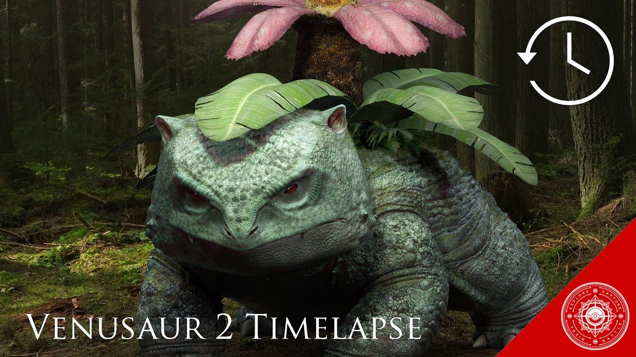 Venusaur 2 Zbrush Timelapse