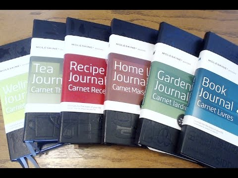 Moleskine Passion Journals | Book, Gardening, Home Life, Recipe, Tea, & Wellness