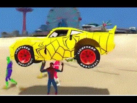 Spiderman auta - Bajki - Bajki spiderman dla dzieci po polsku - Bajki dla dzieci po polsku 2016