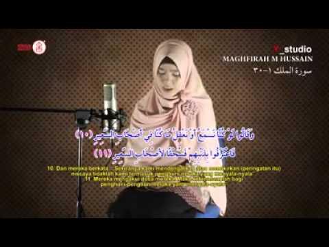 Download Lagu Maghfirah M Hussain surah Al Mulk Ayat 1- 30   YouTube
