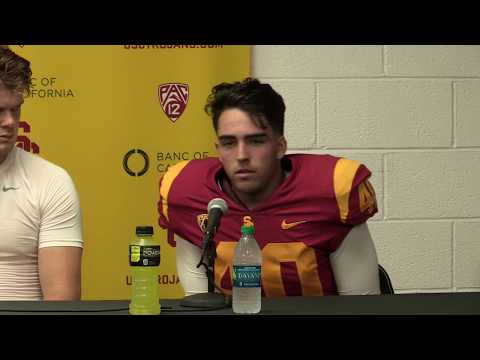 USC Football Post Game Presser - Texas