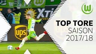 Die 5 schönsten Tore der Saison 2017/18 - Arnold, Didavi und Co.   VfL Wolfsburg