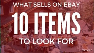 What sells on ebay - 10 items that sell on ebay