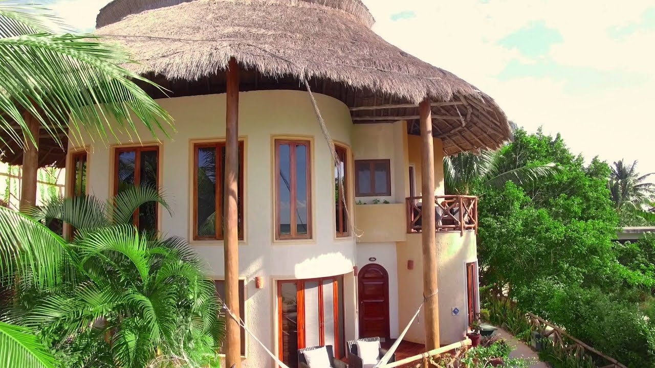 Villas hm para so del mar holbox youtube for Villas otoch paraiso
