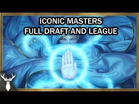Iconic Masters - Draft and League (Magic the Gathering Draft)