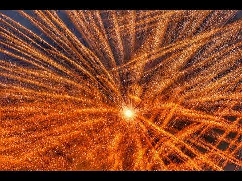 【ドローンで4K空撮】こうのす花火大会 鳳凰乱舞 四尺玉