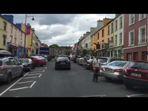 Driving through central Kenmare Ireland with Michael Walsh, Tours by Locals guide