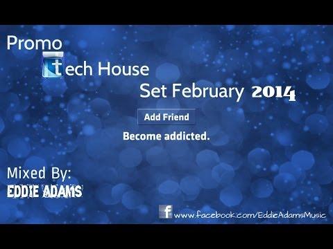 Eddie Adams @ Promo Tech House Set February 2014