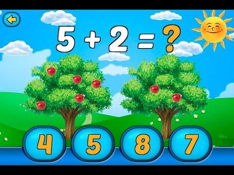Маша и Медведь новая игра для детей Веселая Математика Урок #3 4