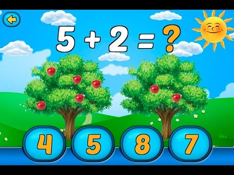 Sweet Melissa TV. Математика для самых маленьких. Игра для Андроида. Game for Android.