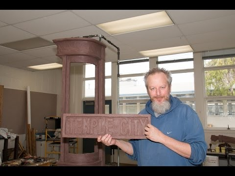 January 24, 2014 -- Temple City Photos visits Sculptor Daniel Stern