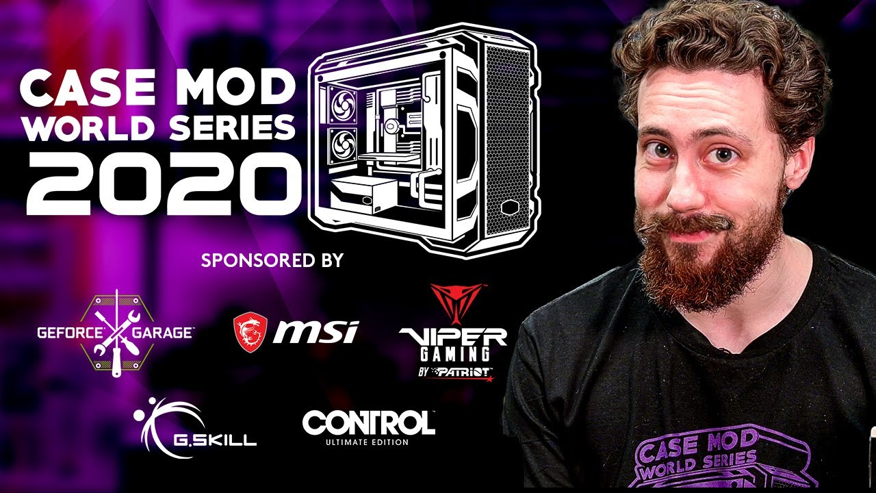 Cooler Master Presents Case Mod World Series 2020 #CMWS20 with $24,000K Prize Pool & all New Awards!