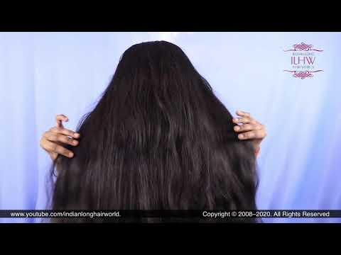 asmr-hair-play-|-perfect-bun-drop-&-hair-spreading-|-how-to-flaunt-with-long-hair|-diy-hair-brushing