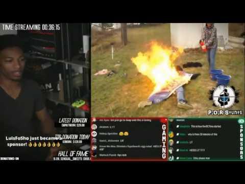 Etika: Dude burns while one jumps on tacks (DEEP WEB 2 RECAP)