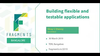 Building flexible and testable applications