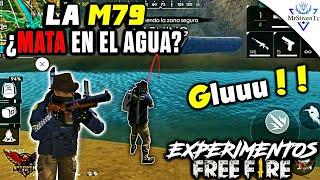 ¿SE PUEDE ELIMINAR ENEMIGOS CON LA M79 ESTANDO EN EL AGUA? EXPERIMENTOS ●FREE FIRE●
