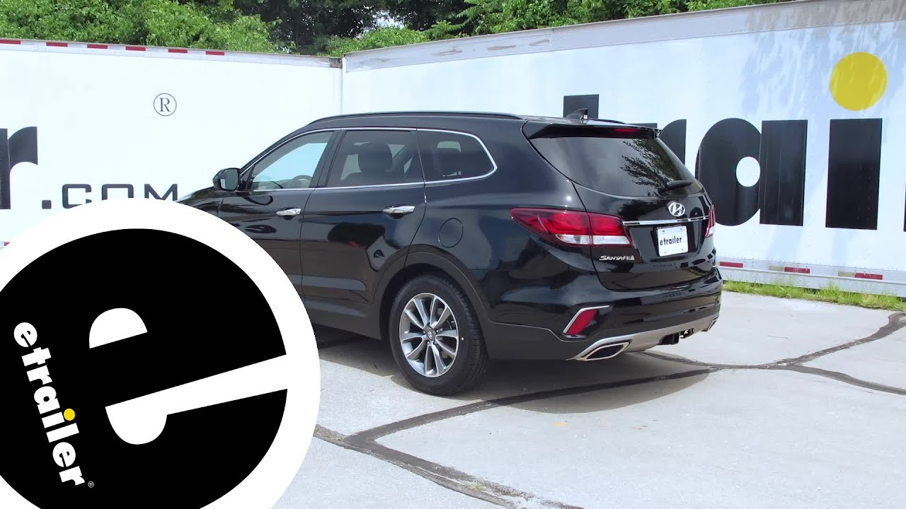 maxresdefault installation of a trailer hitch on a 2017 hyundai santa fe  at gsmx.co