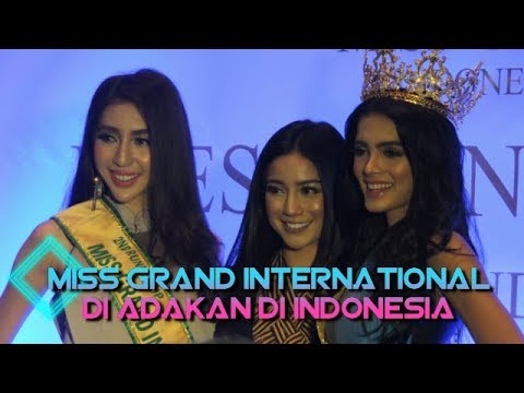 Miss Grand International Di Adakan Di Indonesia