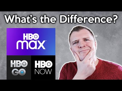 What Is The Difference Between HBO MAX / HBO NOW / HBO GO?