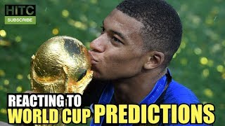 REACTING TO WORLD CUP PREDICTIONS