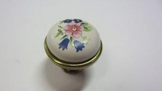Керамическая ручка кнопка для кухни GP19 G00AB MLK1 Gamet