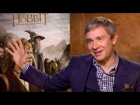 Martin Freeman Interview (THE HOBBIT: An Unexpected Journey)
