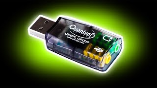 100 Rs. Sound Card.....(World's Cheapest & Smallest USB Sound Card For Laptop)