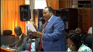 RUTO POINT MAN WAITITU SHOCKING BUDGET DETAILS EXPOSED!! INCOMPETENT!
