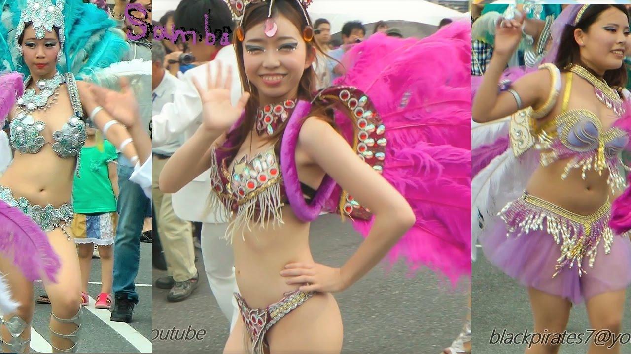 印西で学生サンバ! ダンサーさんたち綺麗で素敵2☆ SAMBA CARNIVAL