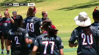 2018 WU24UC - USA v Canada - Womens Pool Play Day 5 - Reupload