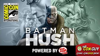 ConGuys: Behind the scenes of BATMAN: HUSH, and other DC animated films